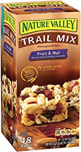 Nature Valley Fruit & Nut Chewy Trail Mix Granola Bars (48 ct.) (3 boxes)