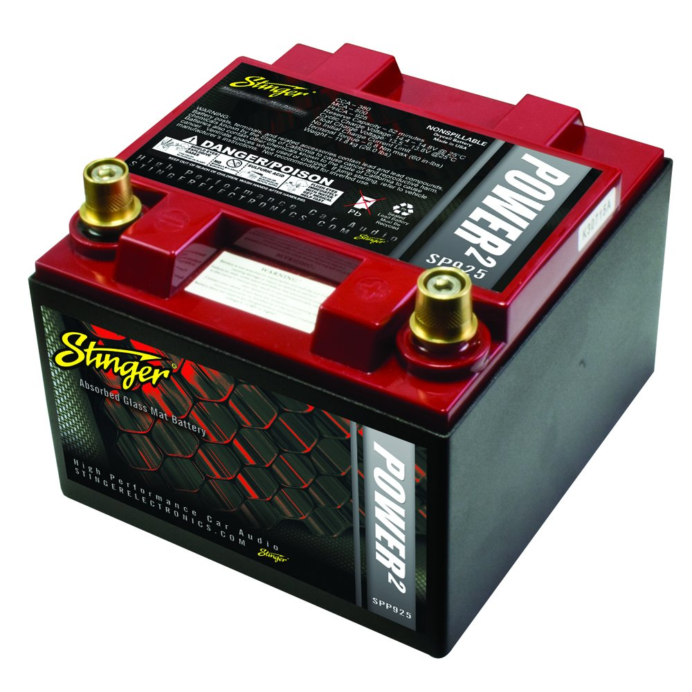 Stinger SPP925 925 Amp SPP Series Dry Cell Battery with Protective Steel Case by Stinger (Image #1)