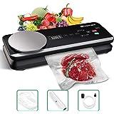 Vacuum Sealer Blusmart 80Kpa Full Automatic Vacuum Food Sealer Machine with Kitchen Scale & LCD Display,Dry & Moist Food Mode