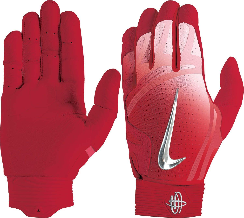 f6aa71d957a1 Amazon.com   Nike Adult Huarache Elite Batting Gloves 2018   Sports    Outdoors