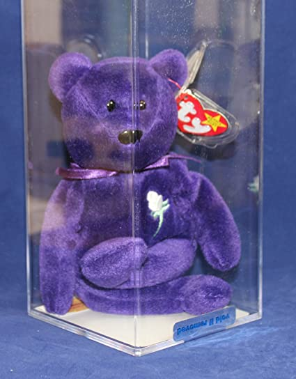 cf0f3f70f84 Image Unavailable. Image not available for. Color  Ty Beanie Baby - RARE  Princess PVC Indonesian Version