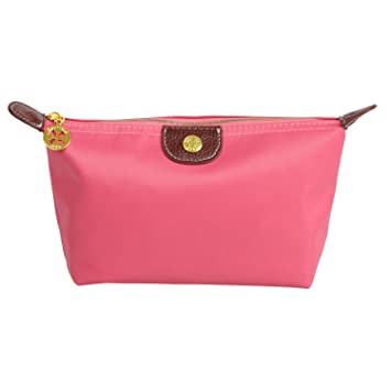 JUJU® iConic-Frame Pouch-Cosmetics Case Large Makeup Bag Travel  Accessory Organiser (Pink)  Amazon.co.uk  Beauty 0901ab21b0633