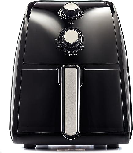 BELLA-(14538)-2.6-Quart-Air-Fryer,-Black