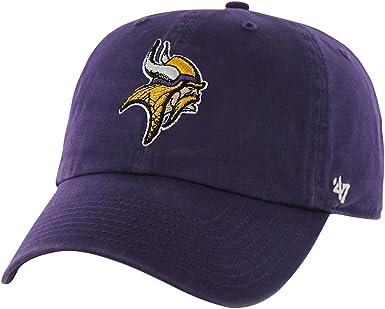 47 NFL Minnesota Vikings Brand Clean Up Adjustable Hat