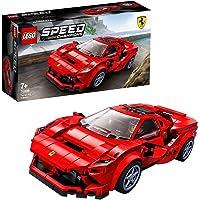 LEGO 76895 Speed Champions Ferrari F8 Tributo Racespeelgoed, met racer minifiguur, raceauto's bouwsets