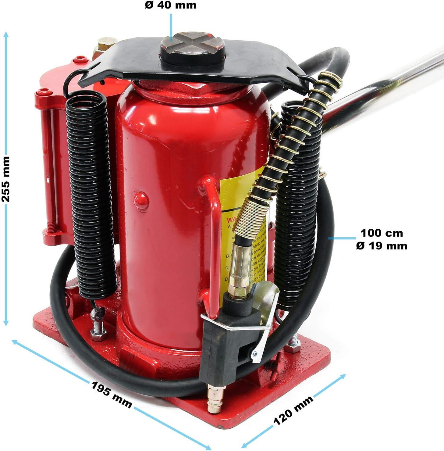 12T Hydraulic Stamp Jack Pneumatic Trolley Jack Bottle Jack