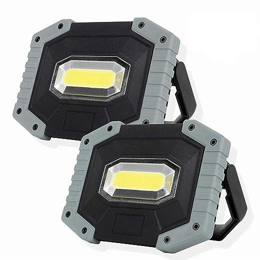 Foco LED Proyector, COB 30W 1500LM LED Proyector de Construcción ...