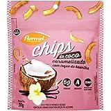 Chips de Coco Caramelizado Flormel 20g