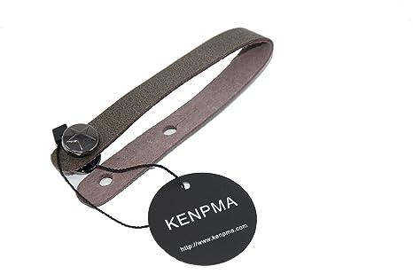 kenpma adaptador de correa de piel Para Guitarra, ukelele, cabezal Tie gancho pequeño 6