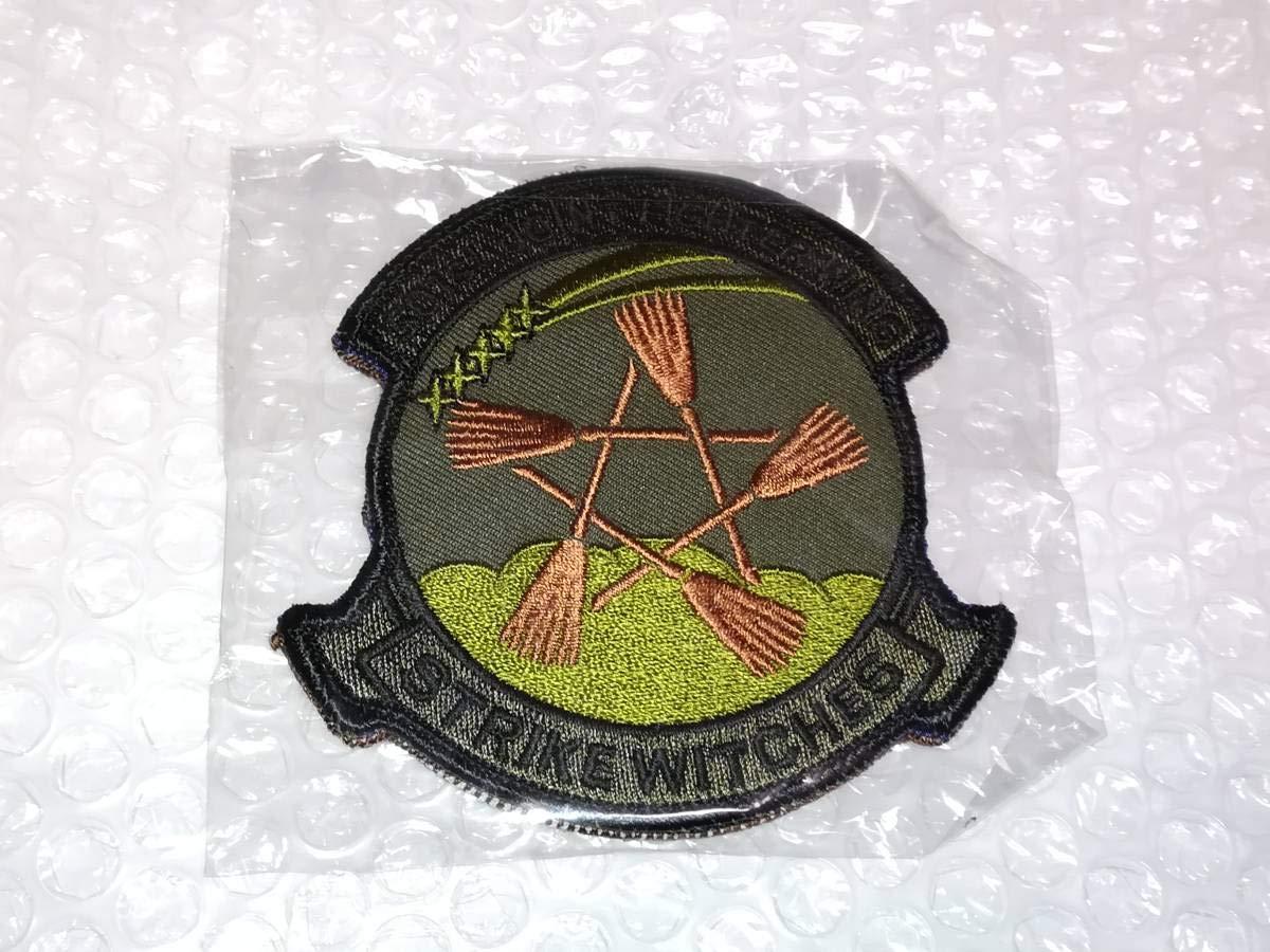 ストライクウィッチーズ 第501統合戦闘航空団 部隊章 ワッペン 2種セット まとめ ミリタリーパッチ サブデュード OD 刺繍   B07ST66QS9