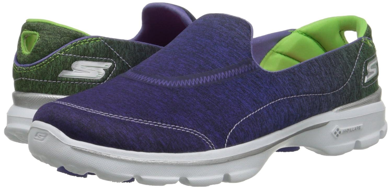 Skechers Performance Womens Go Walk 3 Glisten Walking Shoe Blue
