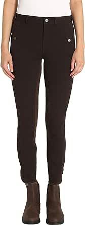 Ultrasport - Pantalones de hípica para Mujer (Parte Trasera Flexible)