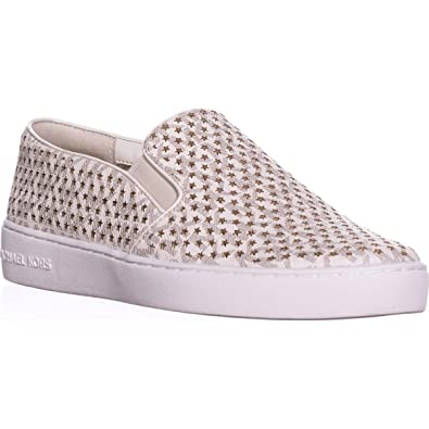 3a5baf685a11 Michael Michael Kors MK Signature Keaton Slip On Sneakers
