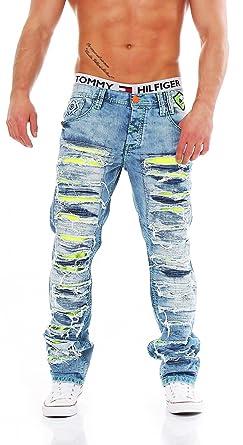 4aaa1b95eda8 Cipo   Baxx - C-1053 - Regular Fit - Men Herren Jeans Hose. Für größere  Ansicht Maus über das Bild ziehen