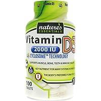 Liposomal Vitamin D3 | 2000IU | + Cyclodextrin | Nature's Essentials | Maximum Absorption Formula | 3 Month Supply | NON…