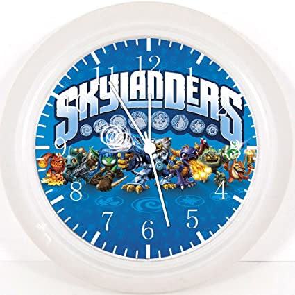 Reloj de pared Skylanders 25,4 cm se color y para pared E15