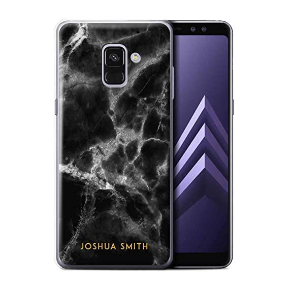 new product ce89c 29a65 Amazon.com: Personalized Custom Marble Case for Samsung Galaxy A8 ...