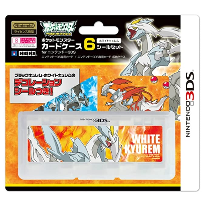 Amazon.com: Pokemon Pocket Monster tarjeta caso 6 sello set ...