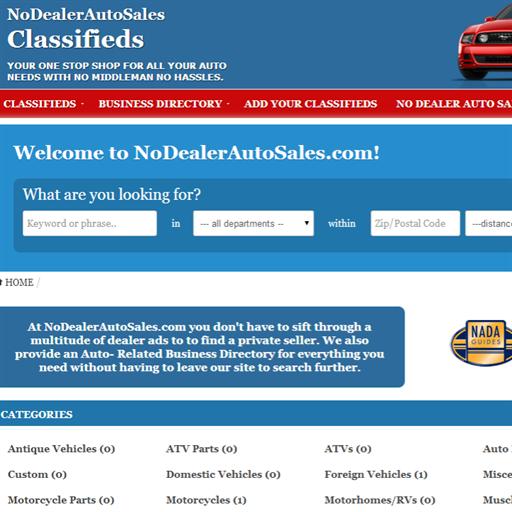 No Dealer Auto Sales