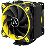 Arctic ACFRE00035AARCTIC Freezer 33 eSports Edition - Tower CPU Cooler with Push-Pull Configuration I Silent 3-Phase-Motor and wide range of regulation 200 to 1800 RPM I Includes 2 low noise 120 mm fans - Green