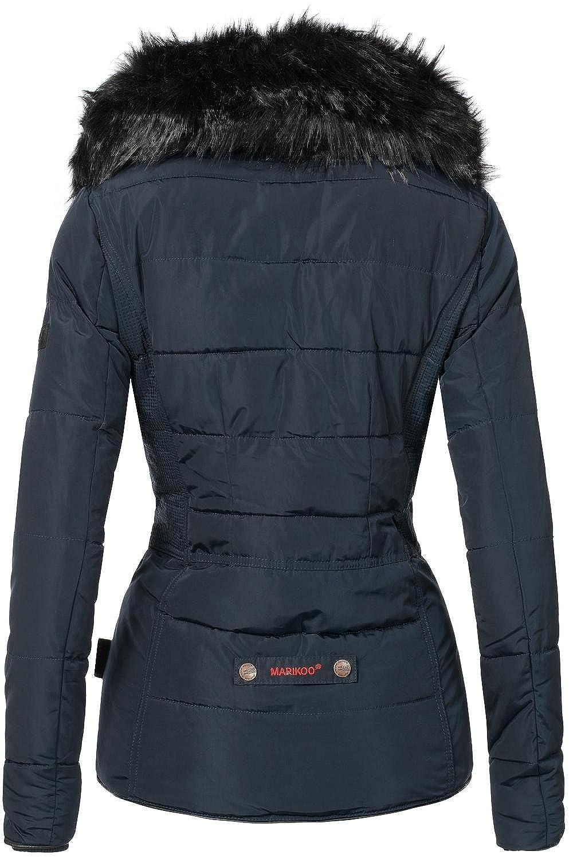 Mari Koo - Giacca da donna giacca invernale trapuntato giacca Marta  (Prodotto Vegan) 5 colori XS - XL Blau XX-Large  Amazon.it  Abbigliamento c554d688f2e6