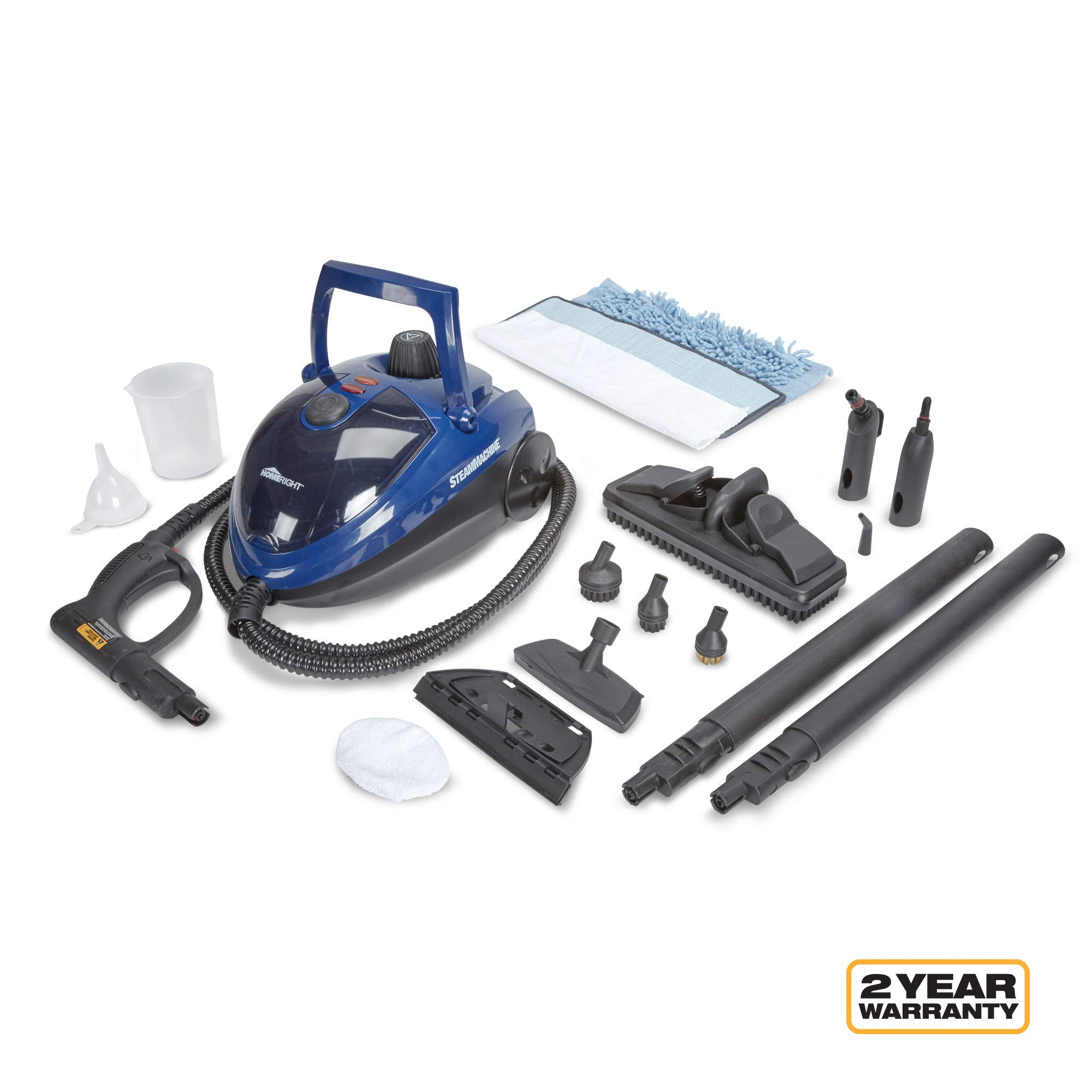 Wagner Spraytech C900053.M SteamMachine Multi-Purpose Home Steamer Steam Cleaner for Cleaning Counters, Floors, Windows, Appliances and Bathrooms, Model 53, Blue