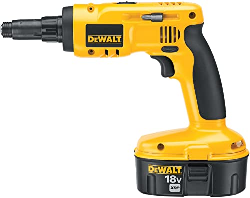 DEWALT DC668KA 18-Volt Cordless Screwdriver Kit for Steel Framing