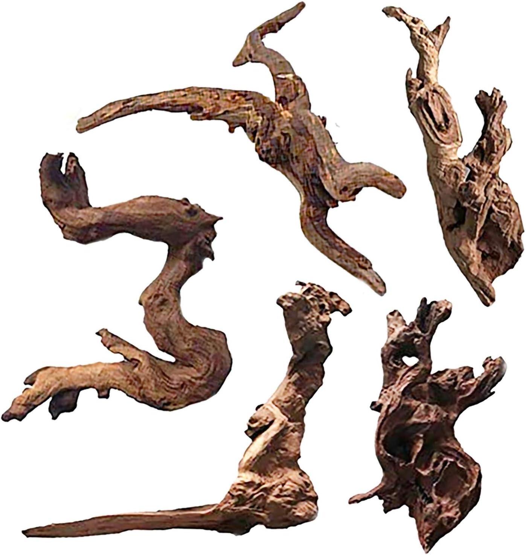 Hamiledyi 5 Pack Aquarium Driftwood