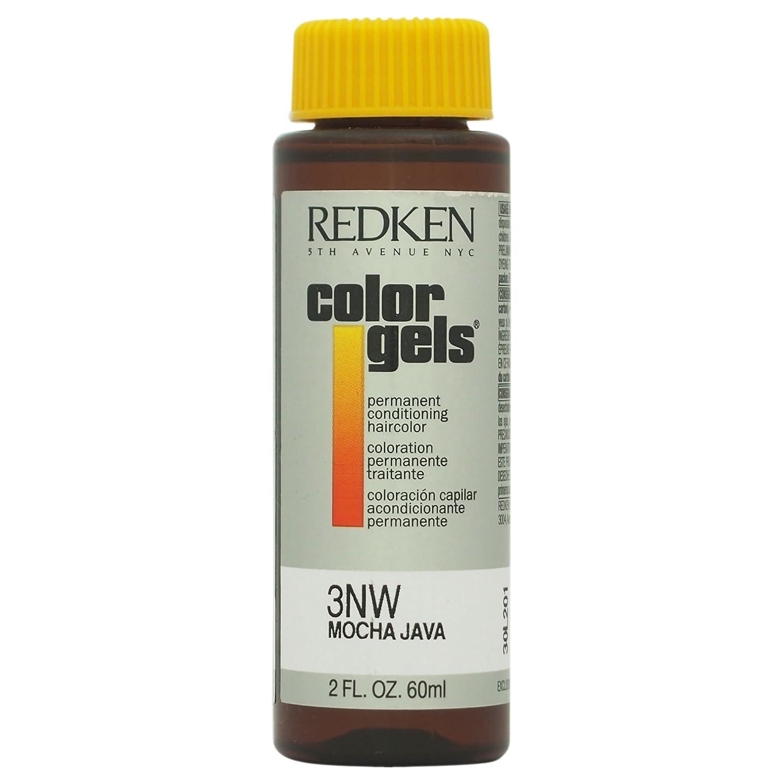 Redken Color Gels Permanent Conditioning Haircolor - 3NW-Mocha Java U-HC-8165