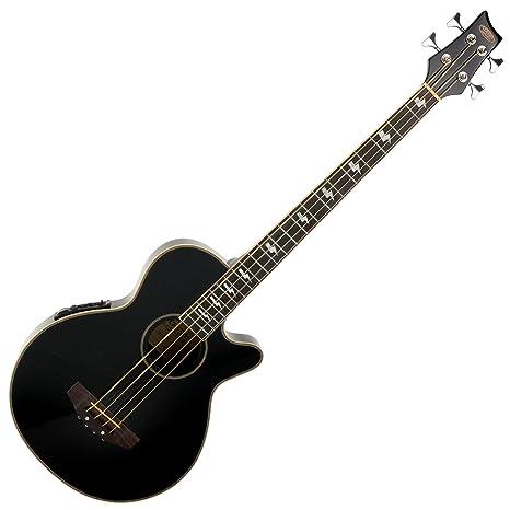 Classic Cantabile AB-40 BK bajo acustico con preamp, negro