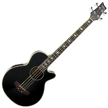 Classic Cantabile AB-40 Akustik Bass schwarz (Bassgitarre mit Pickup ...
