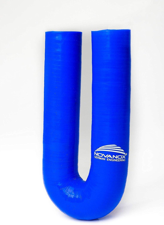 180/° Silikon Bogen /Ø 16 mm Blau Silikonschlauch Rohr K/ühlwasserschlauch Turbo flexibel
