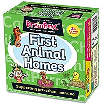 Brain Box First Animal Homes, Juego de Mesa, Multicolor (31690074A): Amazon.es: Juguetes y juegos