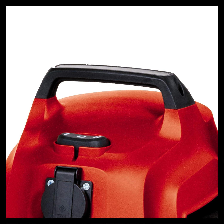 Rojo Cromo Nass-Trockensauger Einhell 2342425 Aspiradora en seco y h/úmedo