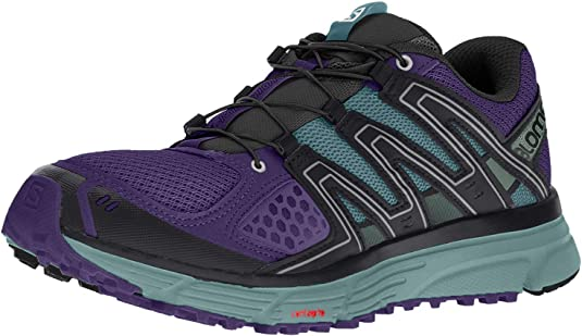 Salomon X-Mission 3 W, Zapatillas de Trail Running para Mujer, Morado (Parachute Purple/Trellis/Black), 37 1/3 EU: Amazon.es: Zapatos y complementos