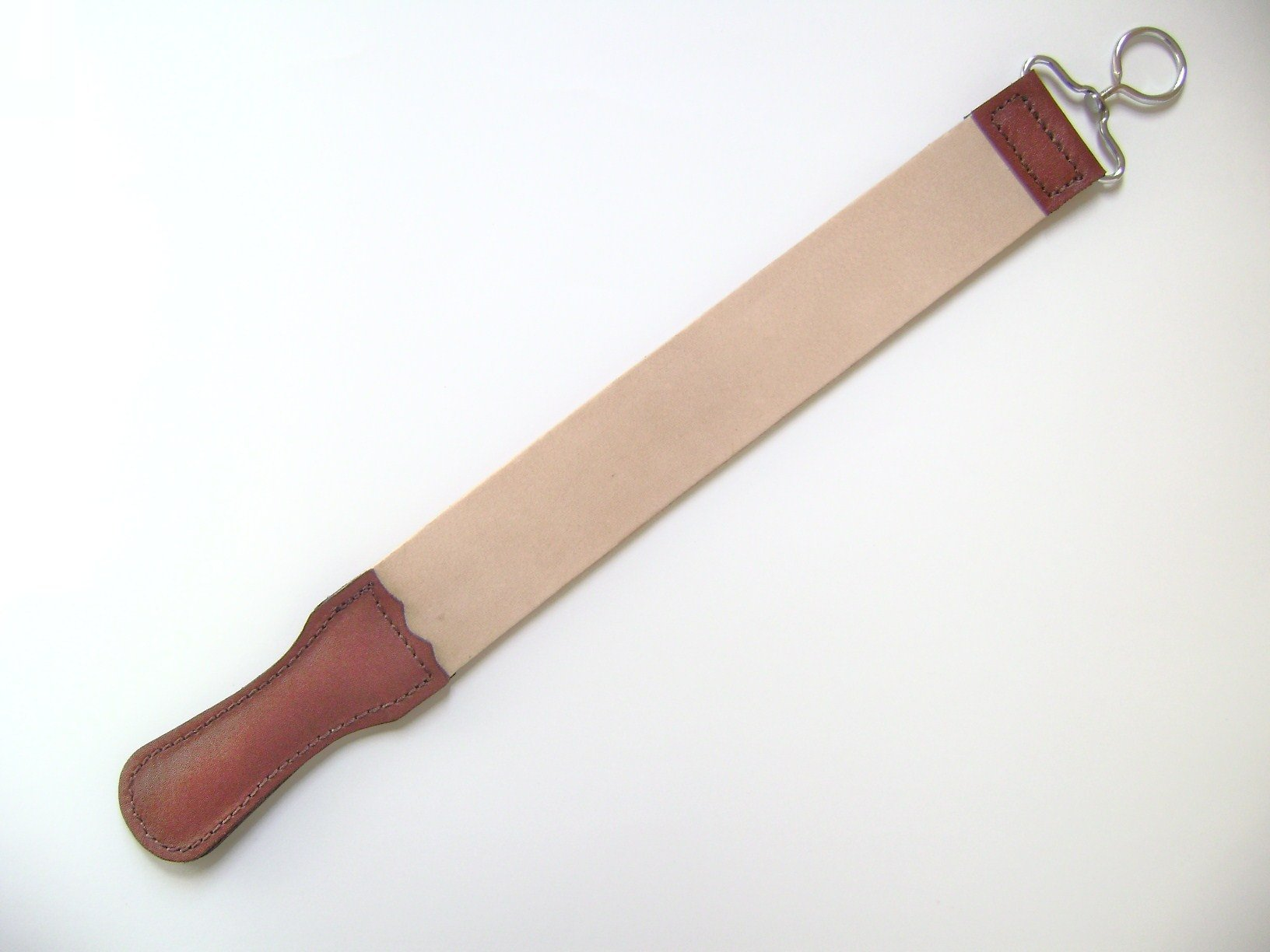 Light Natural Leather Strop 18''