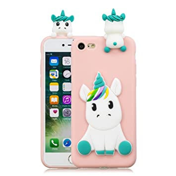 coque iphone 7 licorne 3d