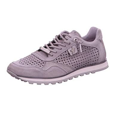 Cetti Luxsportiveshoes, S.L. Women's C848-sra-v17 Stone Lace-Up Flats grey
