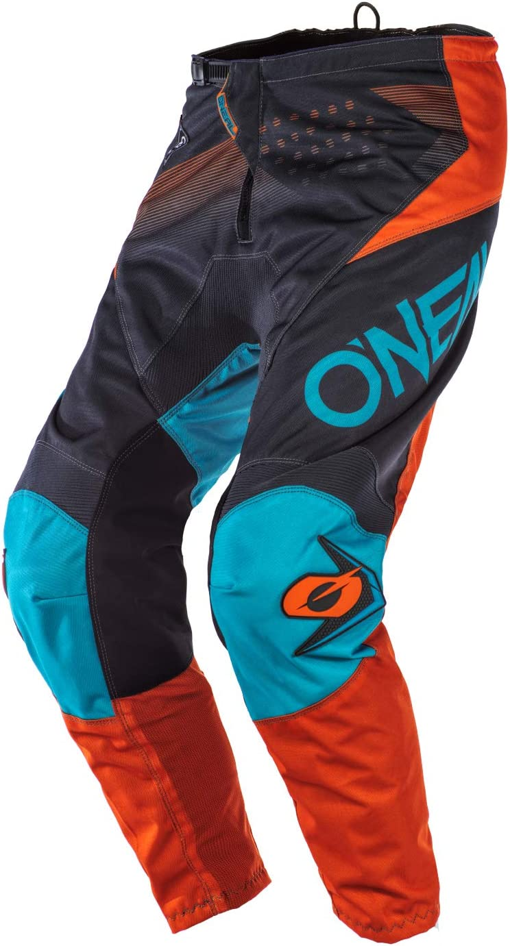 ONeal 2020 ELEMENT Pants FACTOR gray//orange//blue 42//58