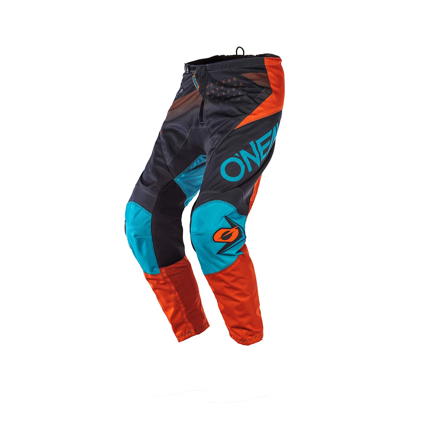 ONeal Element Youth Boys Pants Gray//Orange//Blue, 5//6