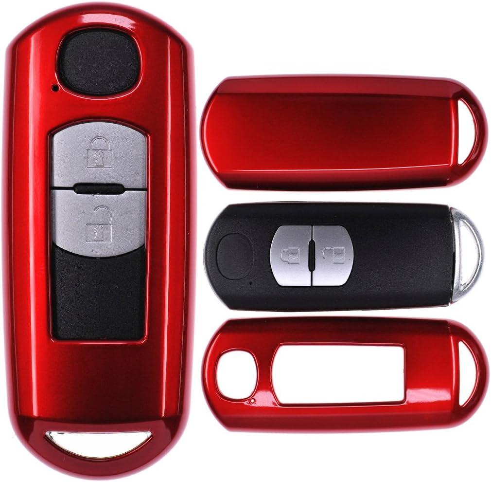 Auto Schlüssel Cover Hülle Für Mazda 2 3 6 Cx 3 Cx 5 Elektronik