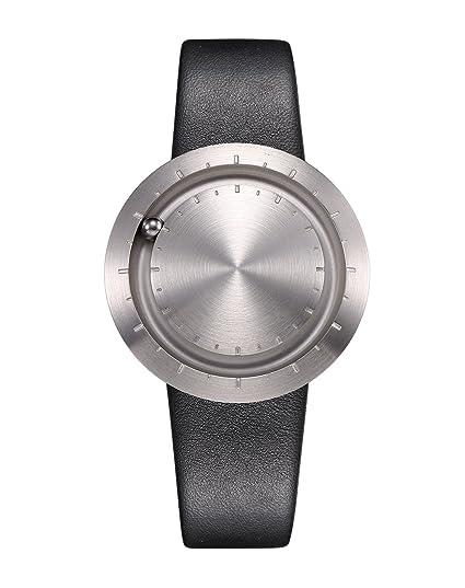 Diseñador Reloj de pulsera Lavaro Abacus silbern – Una especiales – Reloj con mecanismo de cuarzo