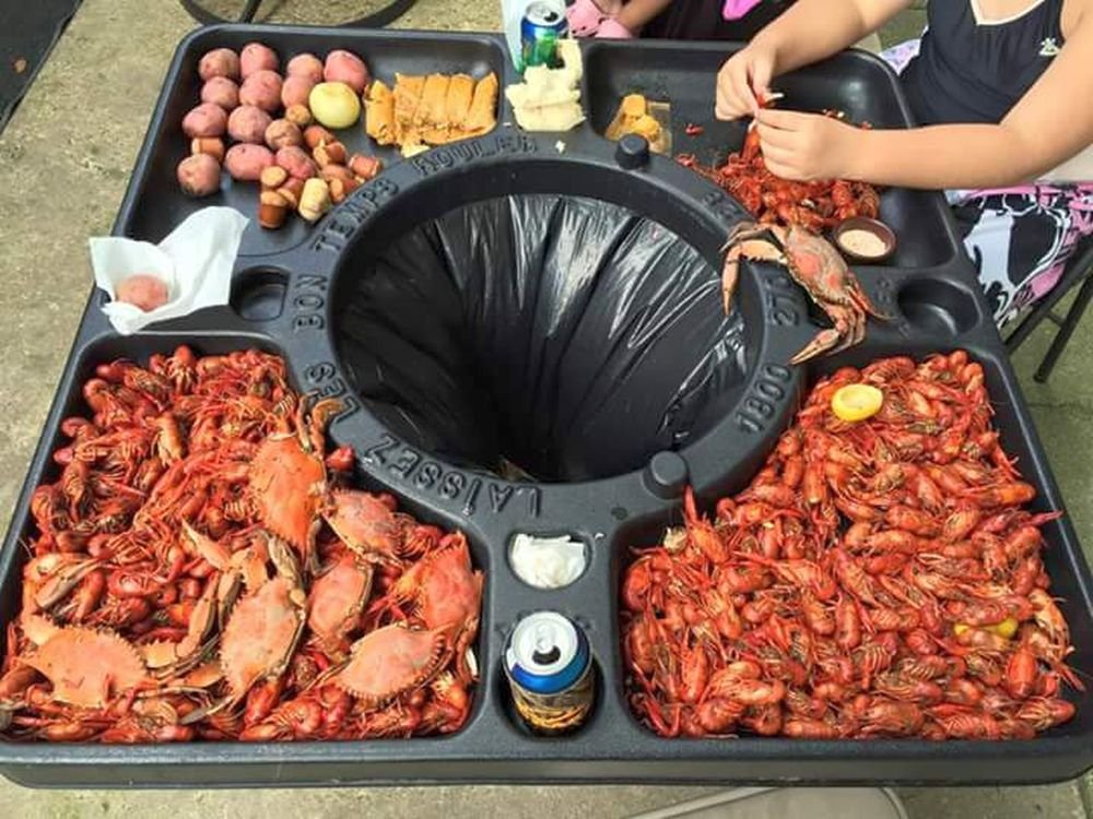 Crawfish Table ONLY by BayTec