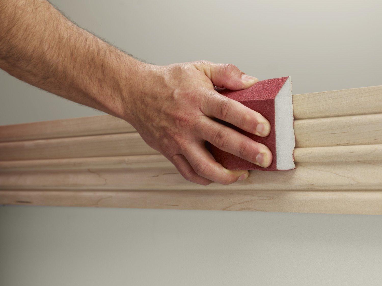 3M Pro Grade Precision Ultra Flexible Sanding Sponge 1-Count 2504PGT-220-UF 220 Grit 2.5-Inchx4.5-Inchx1-Inch