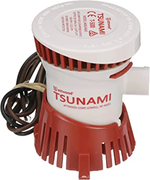 NEW Attwood Tsunami T800 Cartridge Bilge Pump 800 GPH 12 Volt Boat 4608