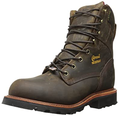 83e81e0c0bad Chippewa Men s 8 quot  Waterproof Insulated Steel Toe EH 26330 Lace Up Boot  ...