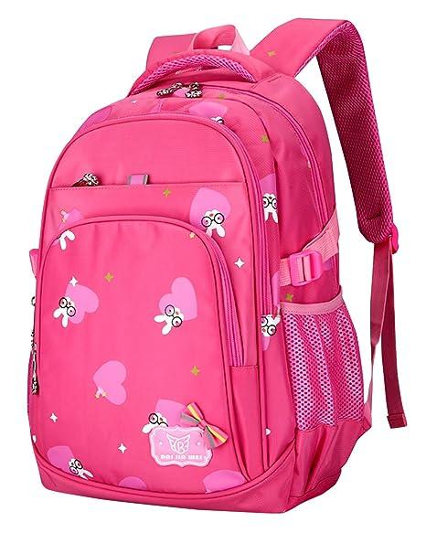 BAIJIAWEI - Mochila Casual Impermeable para Niñas Mochila Escolar para Colegio Adolescentes Backpack for School Mochila