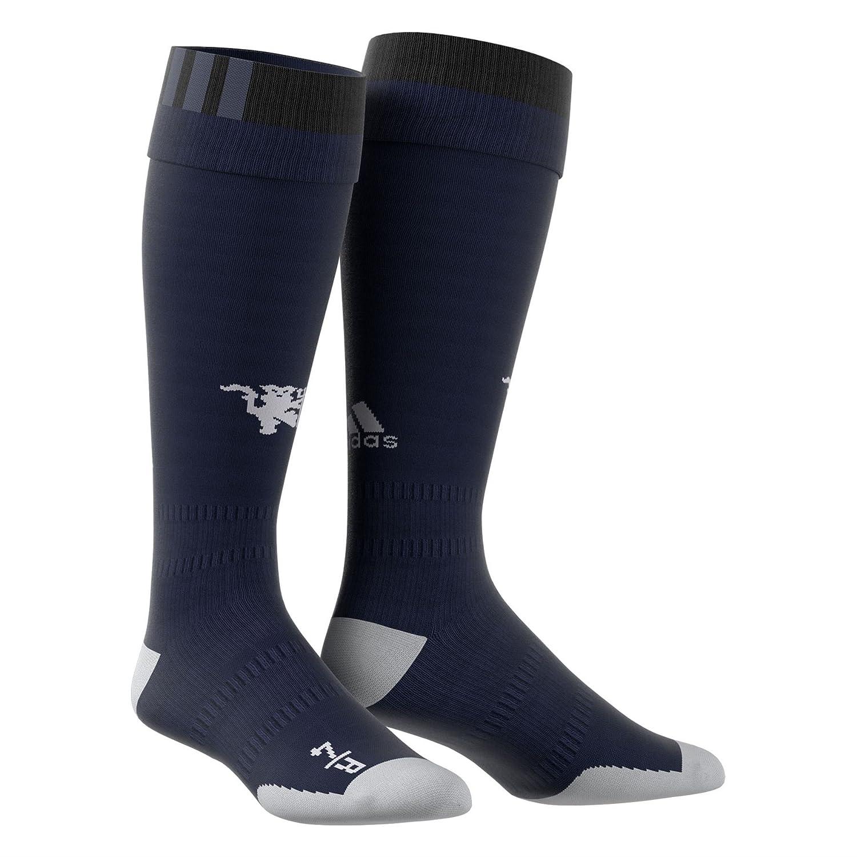 2017-2018 Man Utd Adidas Home Goalkeeper Socks (Black) B072NC2FV5Black LB 2.5-4 UK Foot
