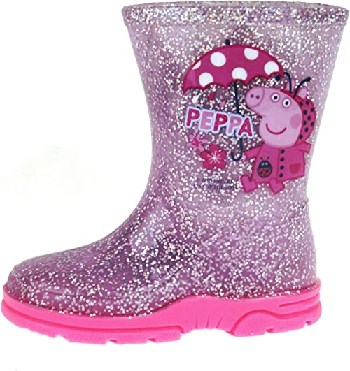 Peppa Pig Girls Pink Wellington Boots