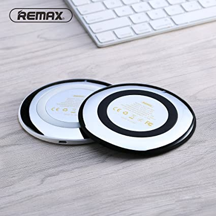 Amazon com: REMAX Qi Wireless Charger for Iphone 8/x